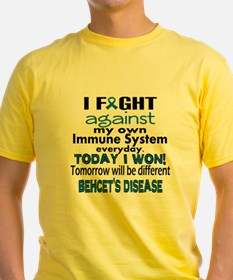 I fight agains my own Immune System everyday. Tod