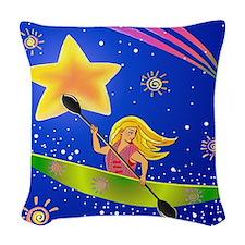 3-starkaykergrtransstrsB.png Woven Throw Pillow