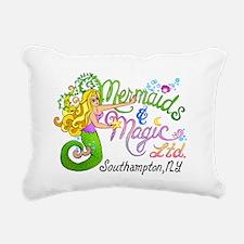 2-mermaidmagic12.png Rectangular Canvas Pillow