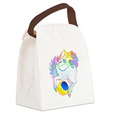 Celestial Unicorn Canvas Lunch Bag