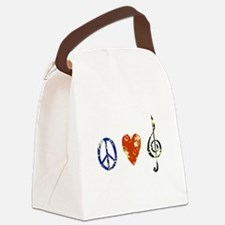 3-peacelovemusicdistressed.png Canvas Lunch Bag