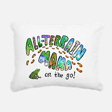 All Terrain Mama Rectangular Canvas Pillow