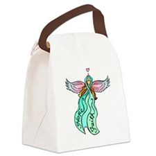 angeltattootransteal.png Canvas Lunch Bag