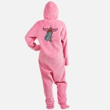 angeltattootransteal.png Footed Pajamas