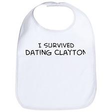 Survived Dating Clayton Bib