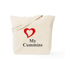 I Love My Cummins Tote Bag
