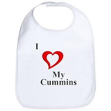 I Love My Cummins Bib