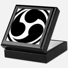 666 Triple Six (black) Keepsake Box