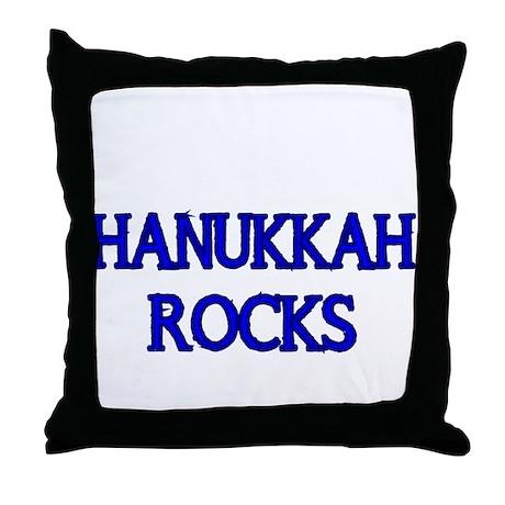 HANUKKAH ROCKS Throw Pillow