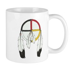Feathered Medicine Wheel Mug
