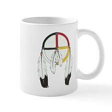 Feathered Medicine Wheel Mug