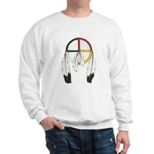 Feathered Medicine Wheel Sweatshirt