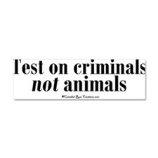 Unique Animal rights Car Magnet 10 x 3