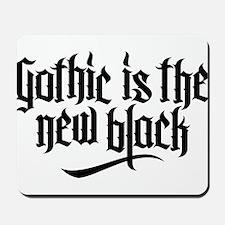 Gothic new black No.1 Mousepad
