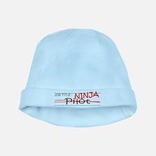 Job Ninja Pilot baby hat