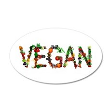 Vegan Vegetable Wall Decal