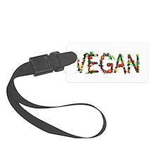 Vegan Vegetable Luggage Tag