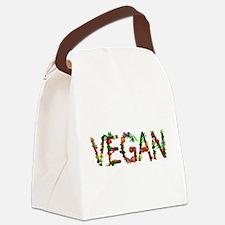 Vegan Vegetable Canvas Lunch Bag