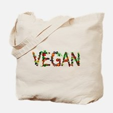 Vegan Vegetable Tote Bag