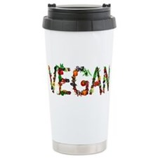 Vegan Vegetable Travel Mug
