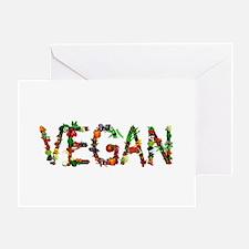Vegan Vegetable Greeting Card