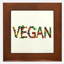 Vegan Vegetable Framed Tile
