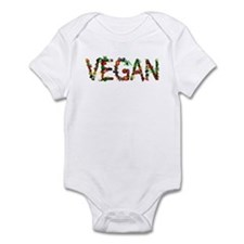 Vegan Vegetable Infant Bodysuit