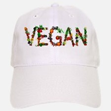 Vegan Vegetable Baseball Baseball Cap