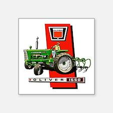 Oliver 1550 tractor Sticker