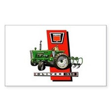 Oliver 1550 tractor Decal