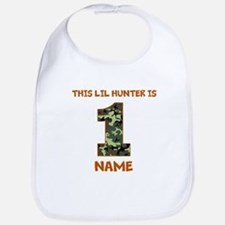 1st Birthday Hunting Bib