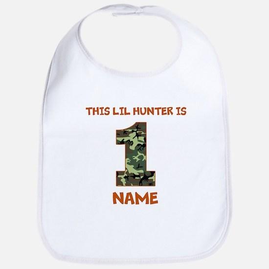 1st Birthday Hunting Bib