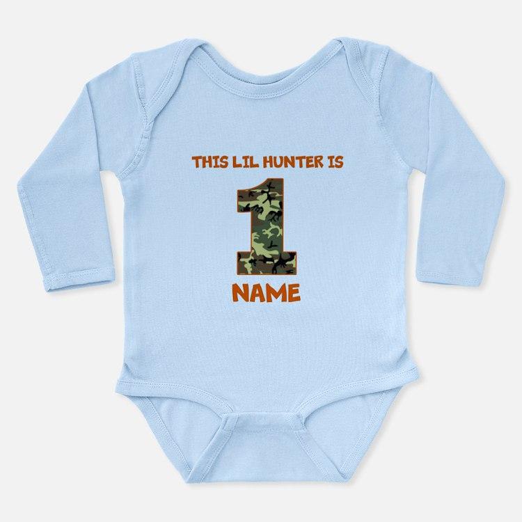 1st Birthday Hunting Body Suit