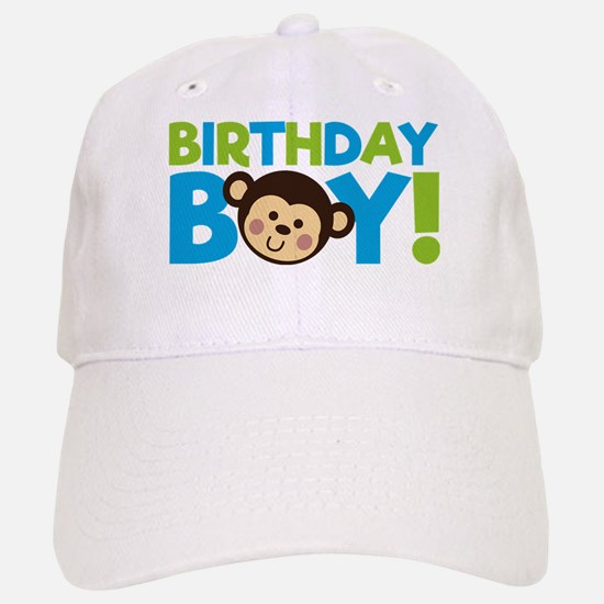 Monkey Birthday Boy Baseball Baseball Baseball Cap