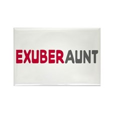 Exuberant Exuberaunt Rectangle Magnet