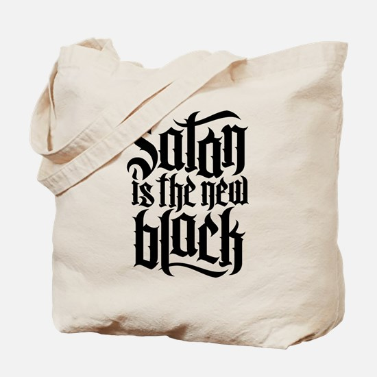 Satan is the new black No.4 Tote Bag