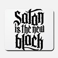Satan is the new black No.4 Mousepad