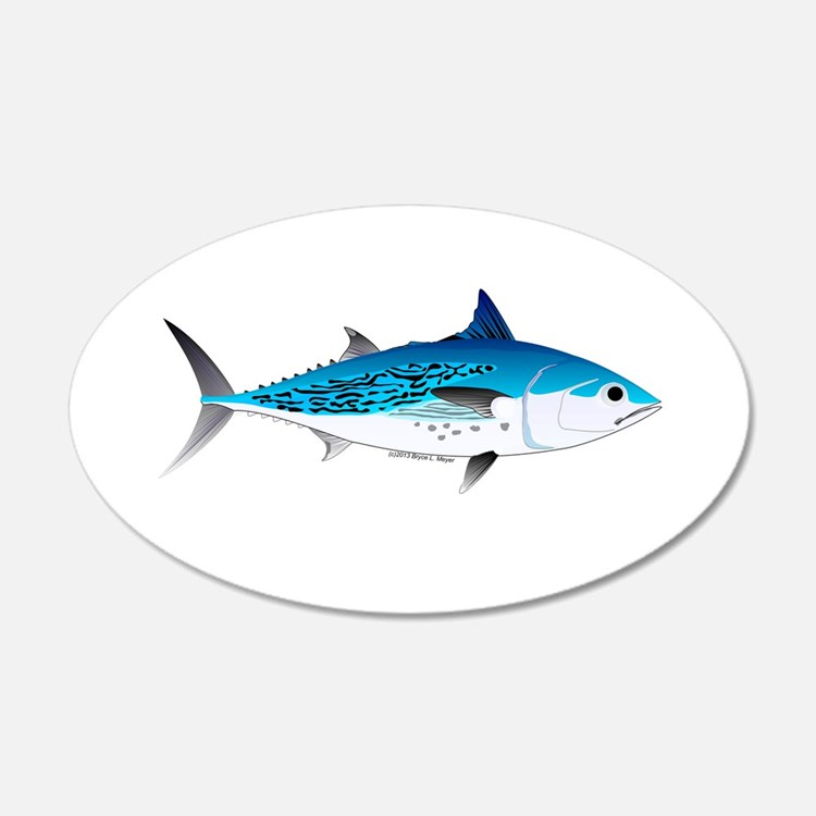 Little Tunny False Albacore Wall Decal