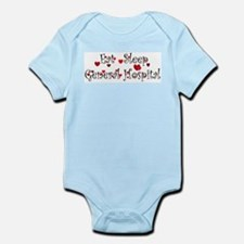 General Hospital heart eat sleep large Body Suit
