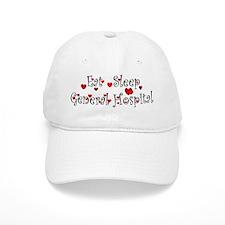 General Hospital heart eat sleep large Baseball Ca