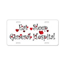 General Hospital heart eat sleep large Aluminum Li