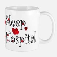 General Hospital heart eat sleep large Mug