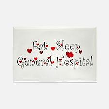 General Hospital heart eat sleep large Rectangle M