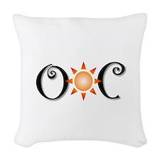 Ocean City Woven Throw Pillow
