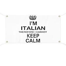 Keep Calm and Italian pride Banner