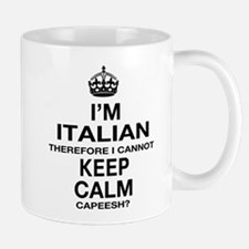 Keep Calm and Italian pride Mug