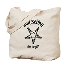 Hail Seitan - Go Vegan No.1.1 Tote Bag