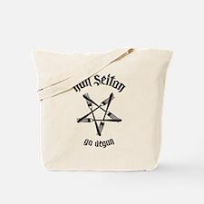 Hail Seitan - Go Vegan No.1.1 Tote Bag