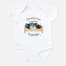 Chin Pawprints Infant Bodysuit