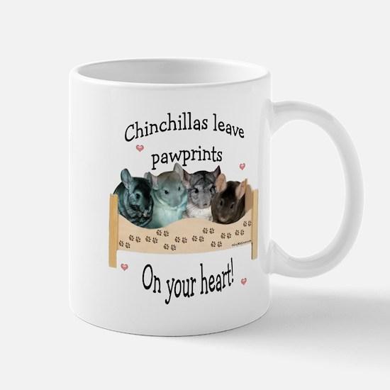 Chin Pawprints Mug